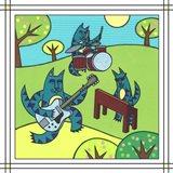 Max Cat Band 1 Art Print