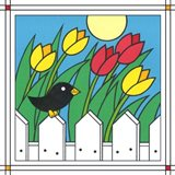 Tulips With Kernel 1 Art Print