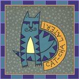 Max Cat Iconic Art Print