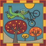Stitch The Scarecrow Bike 1 Art Print