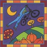 Stitch The Scarecrow Bike 2 Art Print