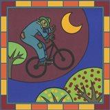 Stitch The Scarecrow Bike 3 Art Print