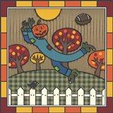 Stitch The Scarecrow Football 1 Art Print