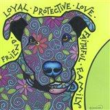 Pit Bull I Art Print