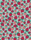 June Strawberries Art Print