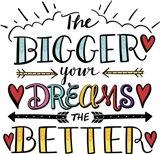 Bigger Dreams Color Art Print