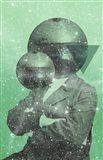 Green Universe Art Print