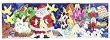 Santa's List Art Print