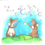 Bubble And Squeak Art Print