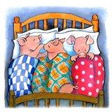 Pigs In Blankets Art Print