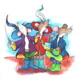 The Three Mouseketeers Art Print