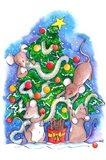 Oh Christmouse Tree! Art Print