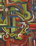 Abstract 17 Art Print