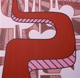 Lines Project 48 Art Print
