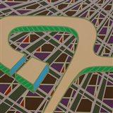 Lines Project 54 Art Print