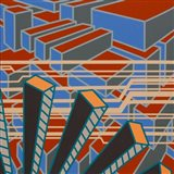 Lines Project 65 Art Print