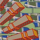 Lines Project 78 Art Print
