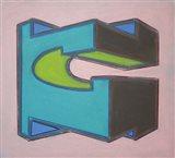 Project Third Dimension 6 Art Print