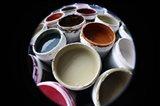 Color Cups & Tape 10 Art Print