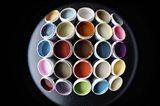 Color Cups & Tape 18 Art Print