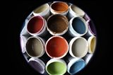 Color Cups & Tape 51 Art Print