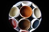 Color Cups & Tape 55 Art Print