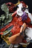 Color Cups & Tape 69 Art Print