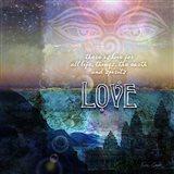 Spiritual Love Art Print