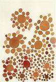 Terracota Petals no 2 Art Print