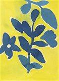 Jardin Amarillo Art Print