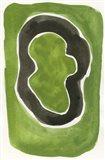 Jade Black Art Print