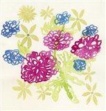Dahlias in the Green Art Print