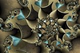 Turquoised Bronze Art Print