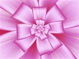 Pretty Pink Bow IV Art Print