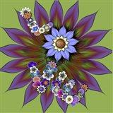 Love Big Bloom Art Print
