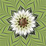 Burst Forth Greenery Art Print