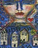 Heart And Home Art Print