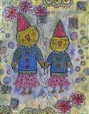 Party Chicks Art Print