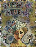 Super Star Art Print