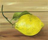Lemon on a Box Art Print