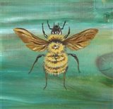 Yellow Bumble Bee Art Print