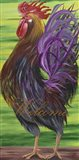 Welcome Rooster Art Print