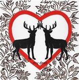 My Deer Valetines Art Print