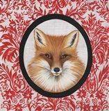 Fox Portrait Art Print
