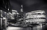 Gotham Side of London Art Print
