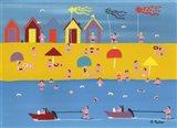 Jet Skis and Kites Art Print