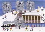 Winter Station Art Print