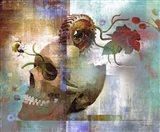 Skulliage Art Print