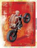 Biker 2 Art Print