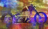 Bobber Moto Art Print